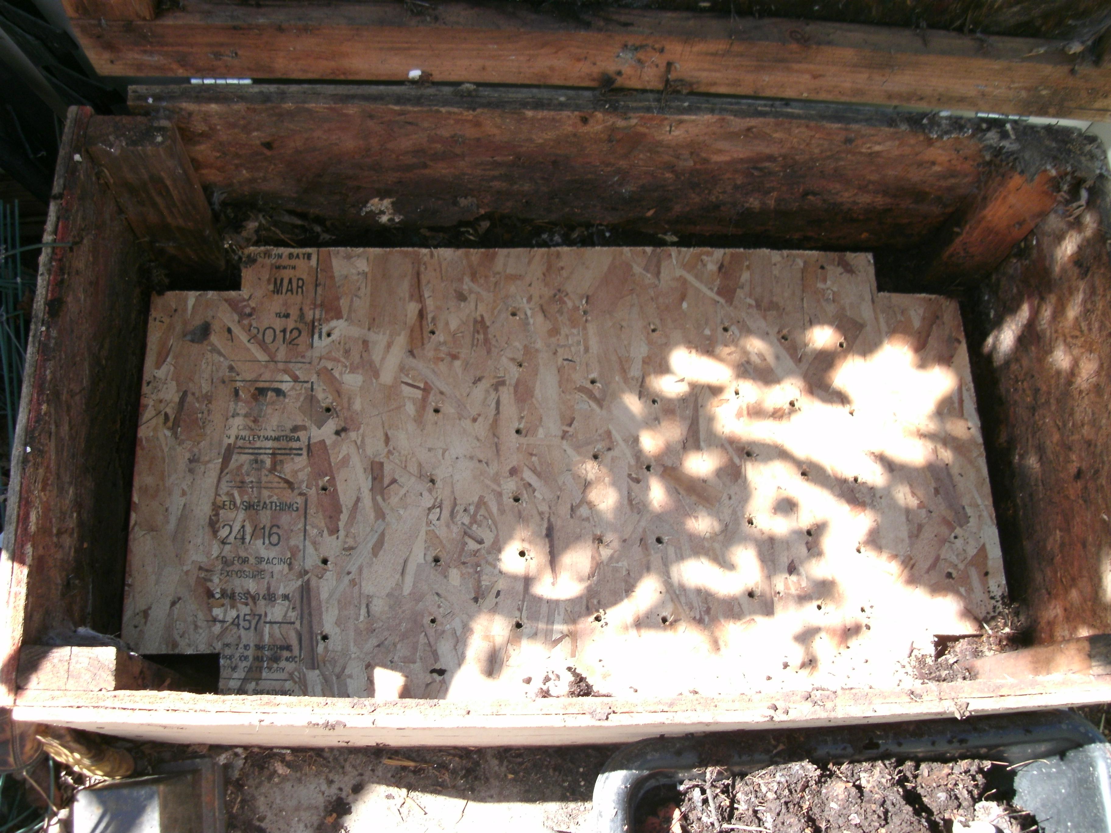 Worm compost bin repair | urbancompostsystems