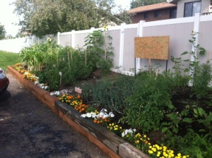 blessed sacrament garden