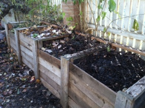 compost turned